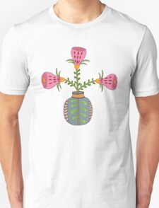 flower pot illustration 1 Unisex T-Shirt
