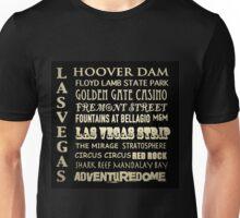 Las Vegas Famous Landmarks Unisex T-Shirt