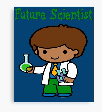 Cute Future Scientist  Gifts Canvas Print