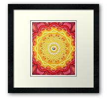 Arrows, hearts and stars Framed Print