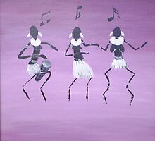Dancing Figures by Omary S