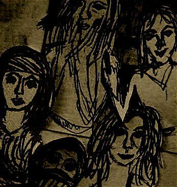 Mullens Girls by Frieda