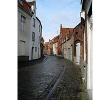 Streets of Brugge. Photographic Print