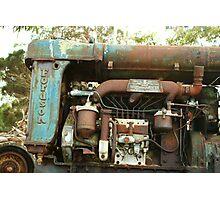 Engine Bay Photographic Print