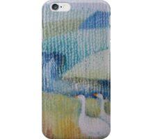 wandering geese iPhone Case/Skin