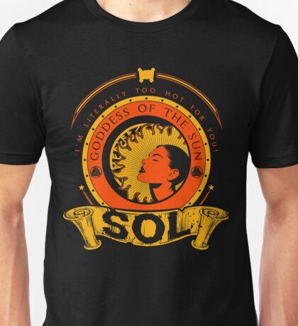 SOL - GODDESS OF THE SUN Unisex T-Shirt
