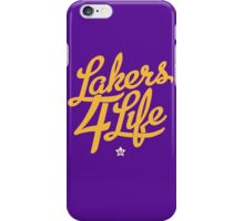 Lakers 4 Life iPhone Case/Skin