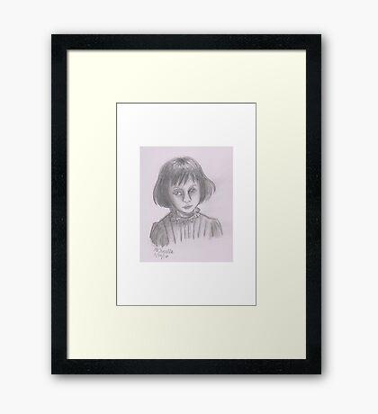 Alice Liddell Framed Print