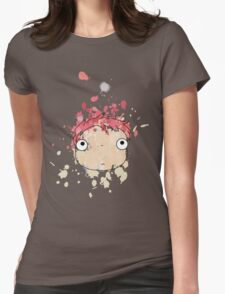 Ink - Ponyo Womens Fitted T-Shirt