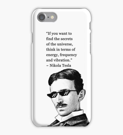 Tesla Genius iPhone Case/Skin