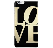 Love Park Philadelphia Sign iPhone Case/Skin
