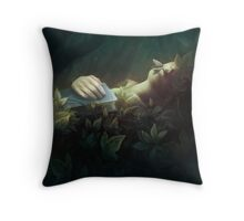 The Exquisite Corpse Throw Pillow
