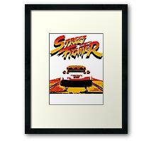 Street Fighter - Nissan gtr Framed Print