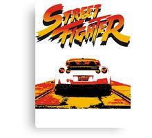 Street Fighter - Nissan gtr Canvas Print