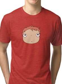 Ponyo colours Tri-blend T-Shirt
