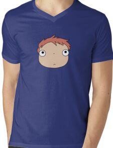 Ponyo colours Mens V-Neck T-Shirt