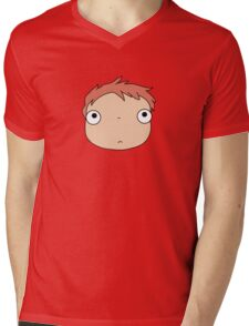 Ponyo colours Mens V-Neck T-Shirt