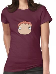 Ponyo colours Womens Fitted T-Shirt