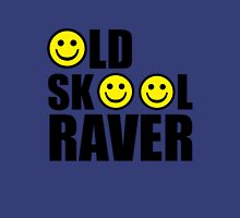 oldskool, raver, smiley, rave Unisex T-Shirt