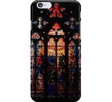 Stained Glass - Prague, St. Vitus Cathedral 1 iPhone Case/Skin