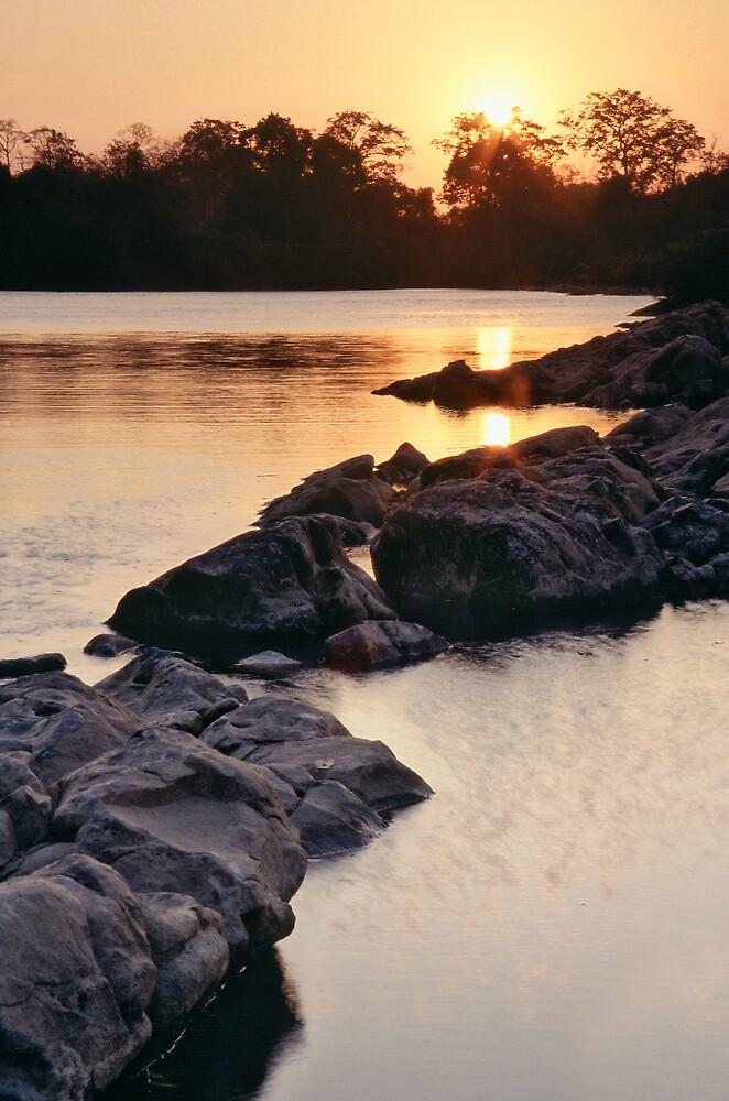 Serepok River by Anthony Begovic