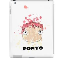 Little Ponyo ink iPad Case/Skin