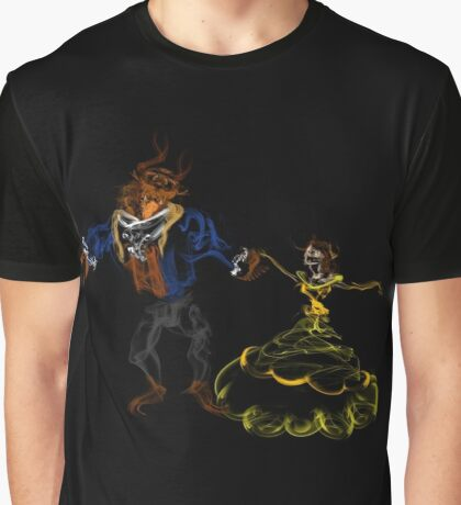 Beauty Dances With Her Beast Graphic T-Shirt