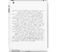 Explosions In The Sky - A Cold Dead Place iPad Case/Skin
