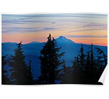 Oregon Sunset Poster