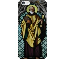 Stained Glass - Prague, St. Vitus Cathedral 3 iPhone Case/Skin
