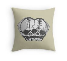 Never Alone (solo) Throw Pillow