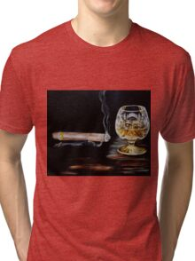 Cigar & Brandy Tri-blend T-Shirt
