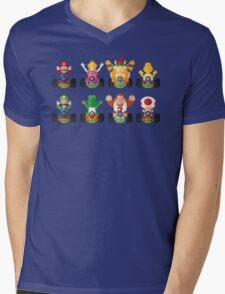 Racers Mens V-Neck T-Shirt