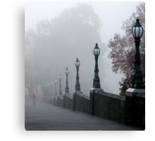 Foggy Melbourne  Canvas Print