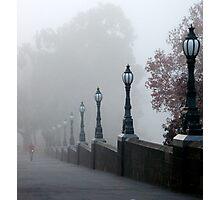 Foggy Melbourne  Photographic Print