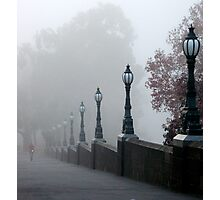 Foggy Melbourne  Photographic Print