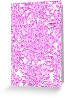 Girly Wall Flower by pinkstinks