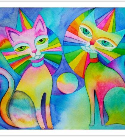 Rainbow Pussies Sticker