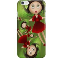 Inner Child - My New Red Party Dress iPhone Case/Skin