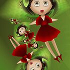 Inner Child - My New Red Party Dress by lacitrouille