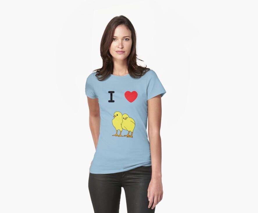 I Love Chicks by AlatarTheBlue