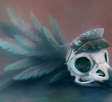 Acherontia atropos by fictionalfriend