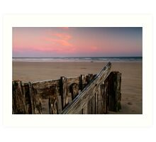 Twilight, Raaf's Beach,Bellarine Peninsula Art Print