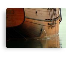 Hull,Tall Ship Canvas Print