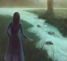 Saturnia pavonia by fictionalfriend