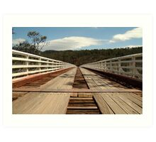 McKillops Bridge Art Print
