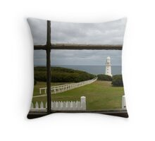Cape Otway Light Station Throw Pillow