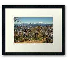 View from Mt Blue Rag,High Country Framed Print