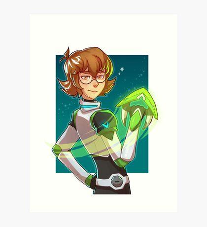 Voltron Legendary Defender Pidge Gunderson Katie Holt  Art Print