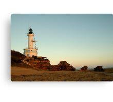 Dusk Pt Lonsdale Lighthouse Canvas Print
